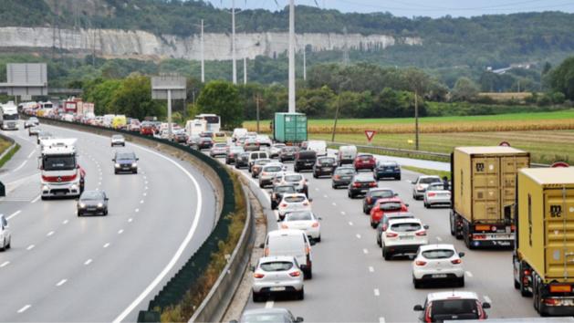 [URGENT] L'autoroute A13 paralysé ce soir entre Flins et Mantes, vers Rouen