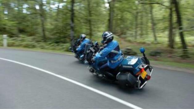 Illustration. Les motards du peloton motorisé de Courbépine, alertés par radio, ont intercepté le véhicule des agresseurs qui ont été interpellés