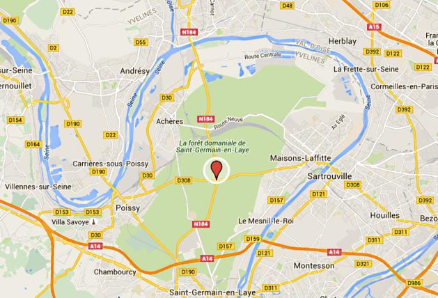 Accident mortel en forêt de Saint-Germain-en-Laye : la N184 et la D308 coupées dans les deux sens