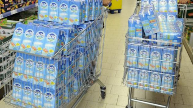 Les auteurs ont reconnu avoir volé 750 litres de lait en une semaine