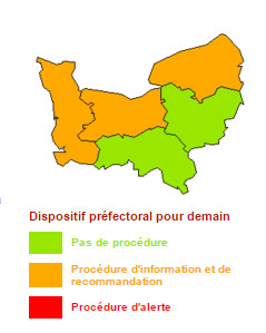 Pollution de l'air en Normandie pour samedi : les recommandations du préfet de région