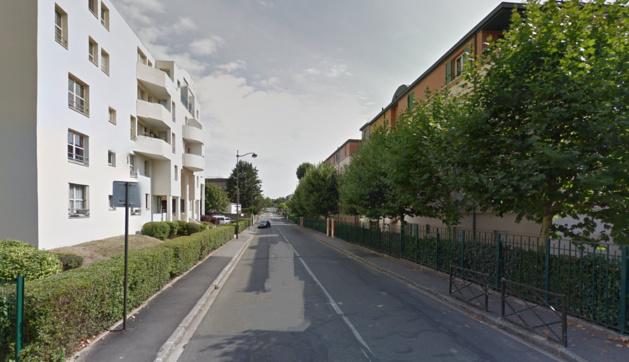 Illustration@Google Maps. L'agression s'est produite dans la rue Caruel de Saint-Martin au Chesnay