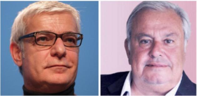 Hervé Maurey (UDI) et Jean Louis Destans (PS)
