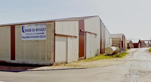 Le hangar a été entièrement détruit (Photo d'archive)