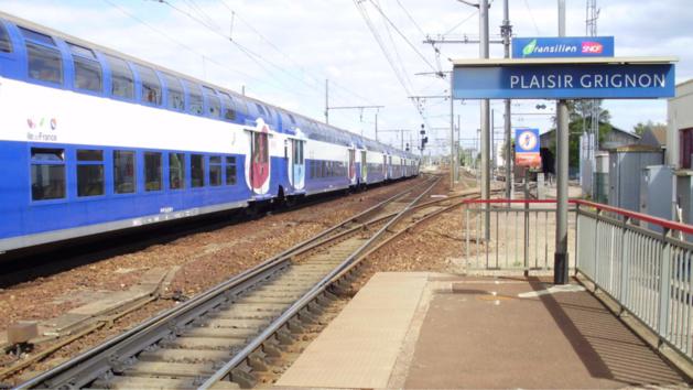 Yvelines : un sexagénaire menacé avec des ciseaux dans le train à Plaisir