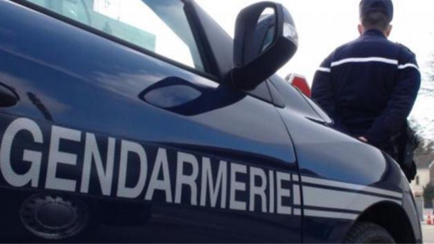 D'importantes forces de gendarmerie ont été déployées dans le département pour tenter d'intercepter les malfaiteurs (Photo d'illustration)