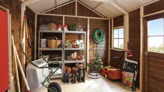Les cambrioleurs s'attaquent désormais aux cabanes et autres abris de jardin plus faciles à fracturer (Photo d'illustration)