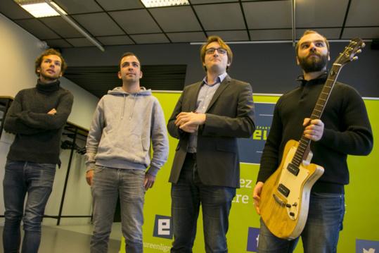 La guitare made in Eure remportée par Antoine Bel, étudiant de Giverny