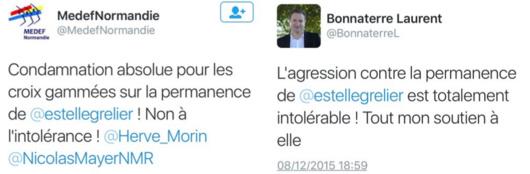 Acte isolé à Fécamp ? Des croix gammées sur la permanence de la députée PS Estelle Grelier