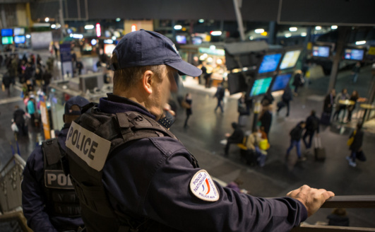 Depuis l'instauration de l'état d'urgence, le territoire a été placé sous haute surveillance des forces de police et de gendarmerie (Photo@DGPN)