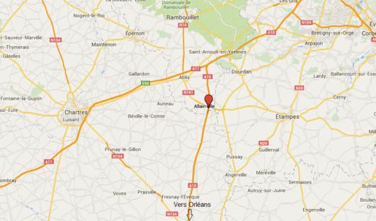 L'A10 coupée à Allainville (Yvelines) à la suite d'un accident impliquant deux poids-lourds