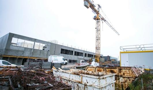 Le chantier est prévu pour être achevé en août 2016 (Photo@CD)