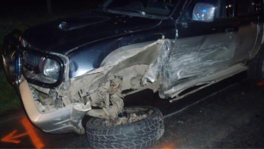 A Bernay, la 206 percute un 4X4 et fait plusieurs tonneaux : un blessé