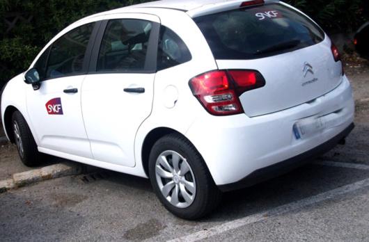 C'est au volant d'une Citroën de ce type, dérobée à la SNCF, que l'adolescent a été arrêté cours Clémenceau à Rouen (Illustration)