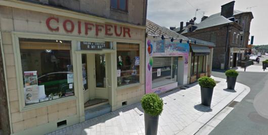 Le petit salon de coiffure de René Michaux, 92 ans a été fortement endommagé (Illustration)