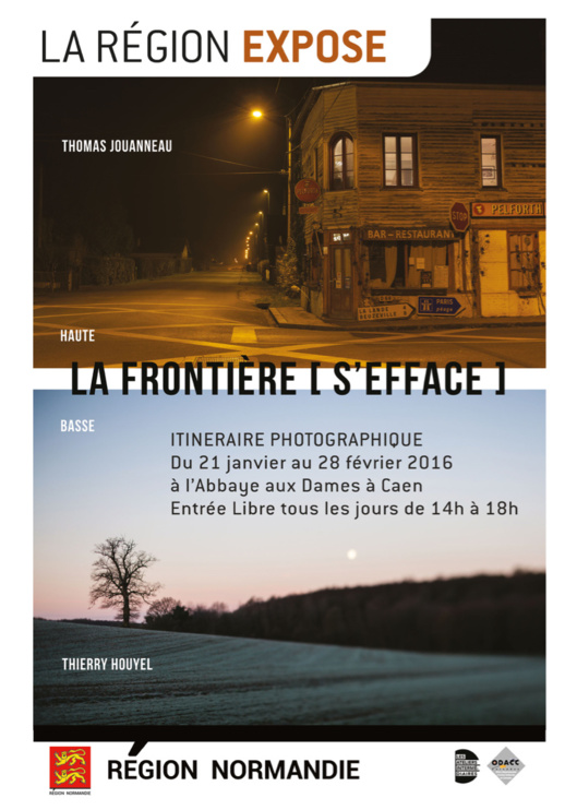 « La frontière [s'efface] » : la Haute et Basse-Normandie dans l'objectif de deux photographes