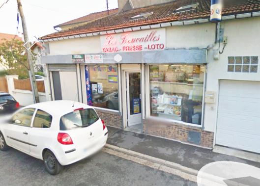 Le tabac-presse, rue de la Chapelle, à Carrières-sous-Poissy, a été braqué deux fois à huit jours d'intervalle (Illustration@Google maps)