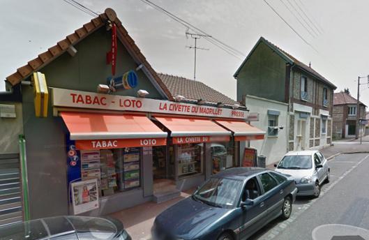 Il avait braqué, le jour de son anniversaire, la Civette, un bar-tabac de la rue du Madrier, à Saint-Etienne-du-Rouvray (Illustration@Google maps)