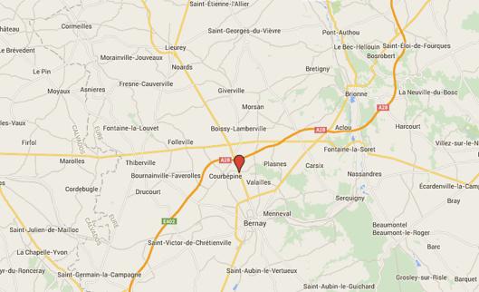 Poids-lourd au fossé : la D834 coupée dans les deux sens à Courbépine, dans l'Eure