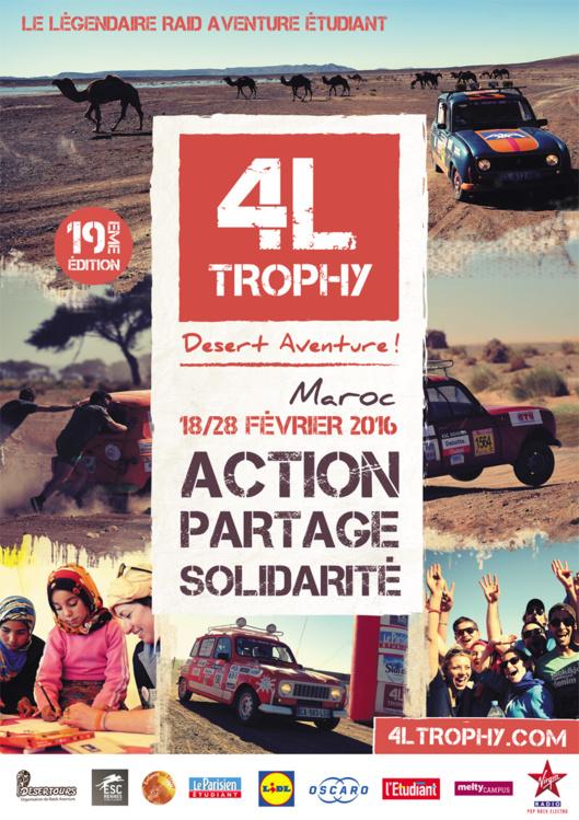14 étudiants de l'EM Normandie engagés dans le 4L Trophy du 18 au 28 février