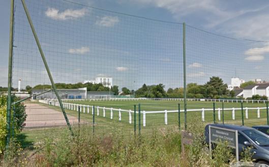 Le stade Albert Dupré à Canteleu