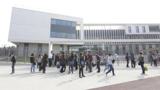 Collège Le collège Camille Du Gast à Achères (Illustration@Flickr.com)