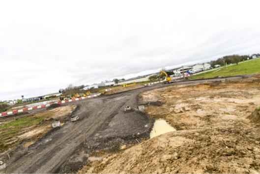 Eure : le chantier de la déviation de Bourg-Achard est lancé avec la construction d'un giratoire