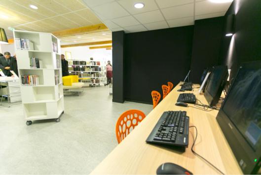 Des locaux adaptés et qui répondent à la volonté municipale et départementale de développer la lecture publique (Photos@CD27)
