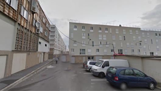 Place de l'2chauguette, dans la cité de la Noé, à Chanteloup-les-Vignes (Illustration@Google maps)