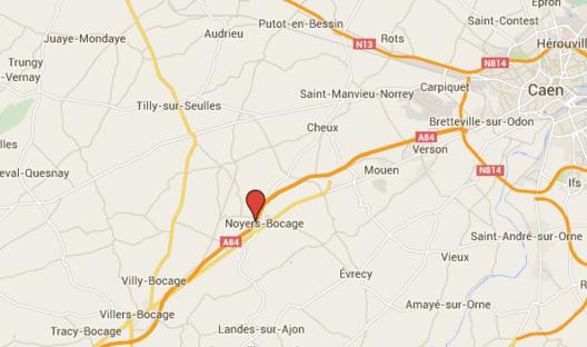 Poids-lourd contre sableuse : l'A84 fermée dans le Calvados