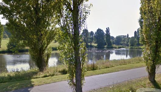 La Suzuki a été retrouvée dans l'eau d'un des étangs du parc de Rouelles (Illustration)