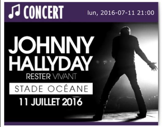 Concert de Johnny Hallyday au Havre : la billetterie est ouverte depuis ce matin