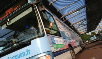 Rouen : il brise une vitre dans le bus pour ne pas frapper sa compagne lors d'une dispute
