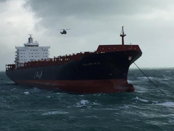 L'armateur d'un navire en difficulté au large du Havre mis en demeure par le préfet maritime