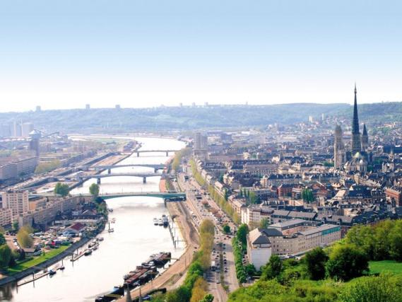 La Seine à Rouen (Photo@DR)