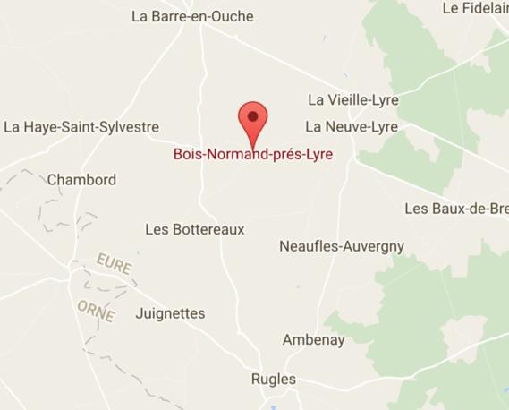 Eure : un automobiliste en menace un autre avec un fusil de chasse, à Bois-Normand