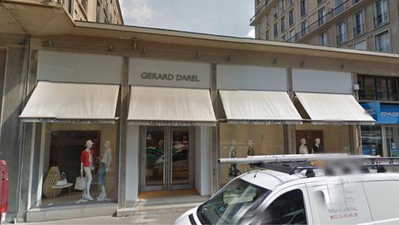 Le Havre : le magasin de vêtements Gérard Darel dévalisé en pleine nuit