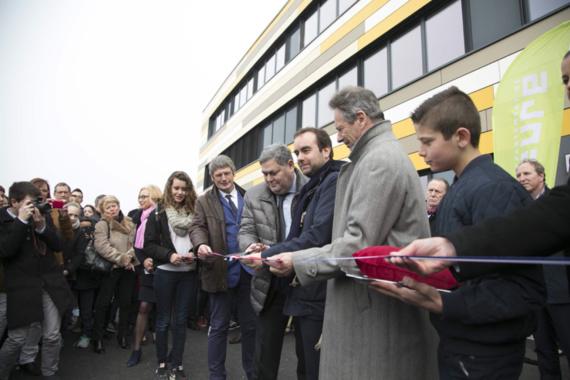 Le fils de Simone Veil à Bourg-Achard pour inaugurer le nouveau collège