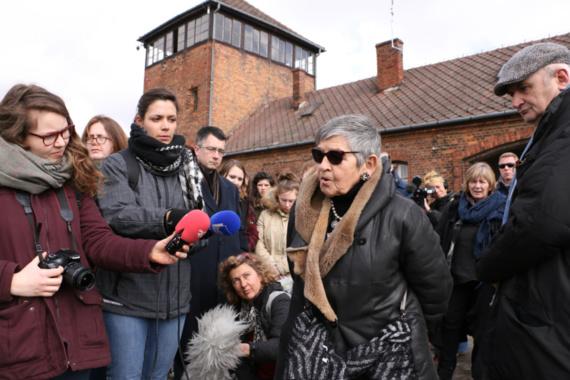 Une délégation normande de lycéens et d'apprentis en voyage d'études à Auschwitz