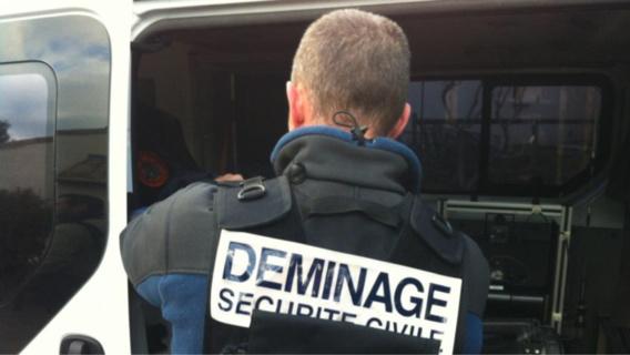 Les demineurs ont fait exploser le sac suspect (Illustration)