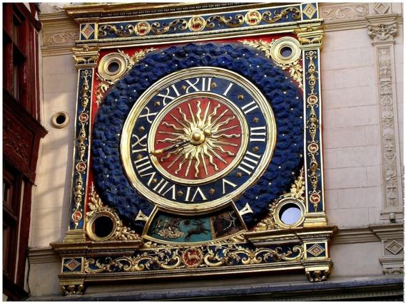 Le Gros horloge de Rouen (Photo@DR)