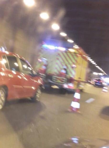 Accident mortel sur l'A12 et carambolage sur l'A13 à Mantes en direction de Rouen