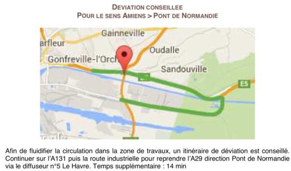 Le pont mobile du Havre en travaux : ralentissements à prévoir du 4 au 15 avril