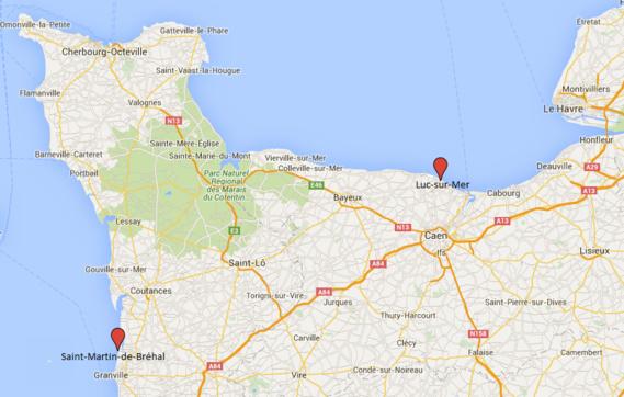 Normandie : isolés par la marée, cinq personnes, dont un enfant, secourues dans le Calvados et la Manche