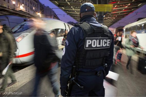 Les services de sécurité ont simulé une attaque terroriste dans un TGV (Illustration@DGPN)