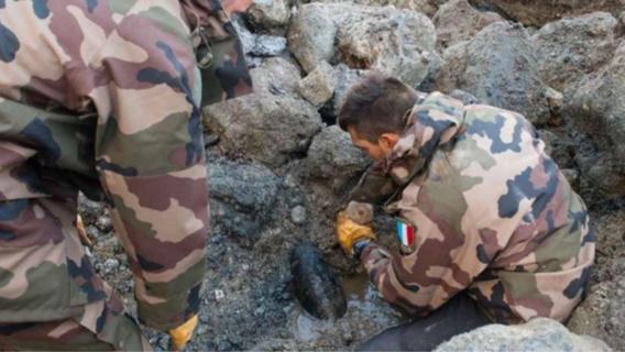 Opérations de déminage : une bombe anglaise à Dieppe et deux obus sur la plage des Loges