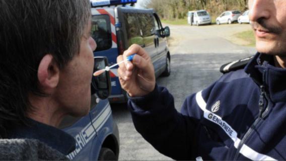 Le test salivaire pratique sur le pilote s'est révélé positif (Illustration)