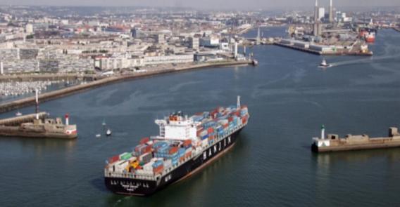 Le container devait embarquer au Havre à bord d'un navire à destination des Philippines (Illustration)