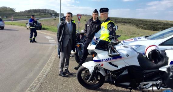 Le chef de cabinet du préfet de l'Eure a pu vérifier une nouvelle fois la nécessité des contrôles de vitesse en agglomération (Photo@infonormandie)