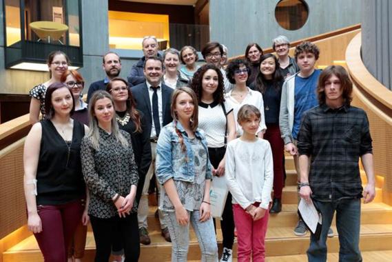 Les lauréats de la 6ème édition (Photo@Erik Levilly/ville du Havre)